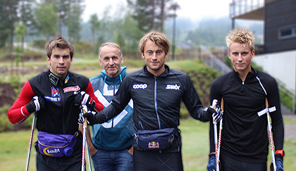 Team Northug have chosen Skiselector